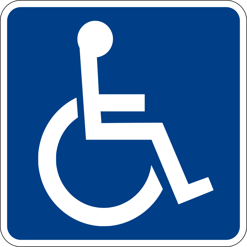 Accessible sign svg